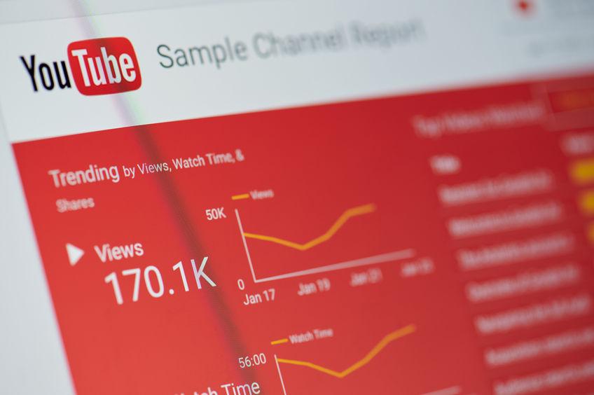 YouTube zrzut strony